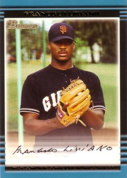 2002 Bowman Francisco Liriano
