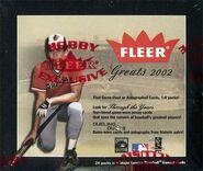2002 Greats Hobby Box