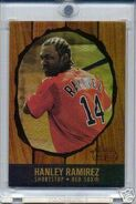 2003 Bowman Her Gold Rainbow Front