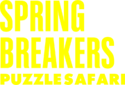 Spring Breakers Puzzle Safari logo