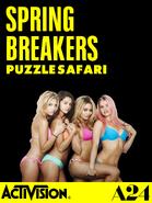 Spring Breakers Puzzle Safari title (iPad)
