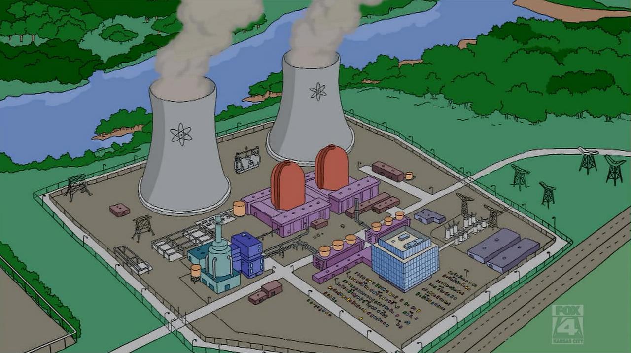 Résultats de recherche d'images pour «nuclear power plant springfield»
