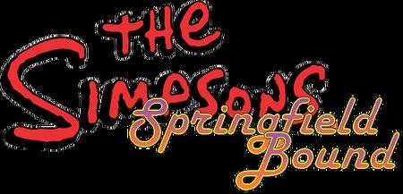 The Simpsons Springfield Bound Logo