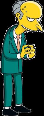 Mr. Burns (Official Image)