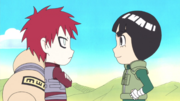 Lee reunites with Gaara