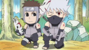 Kakashi and Yamato as ANBU
