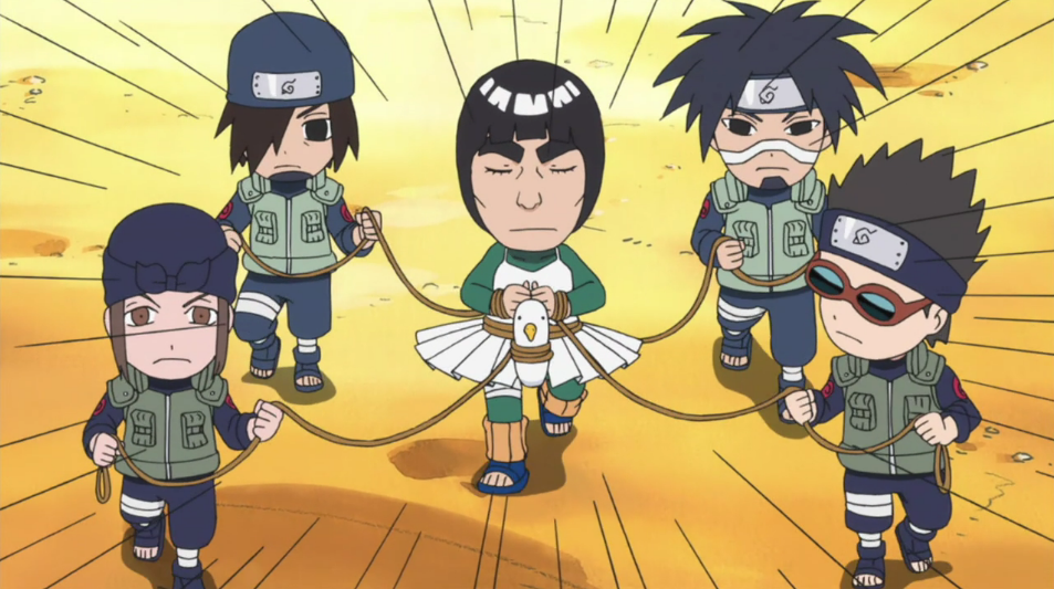 might guy rock lee s springtime of youth wiki fandom powered by