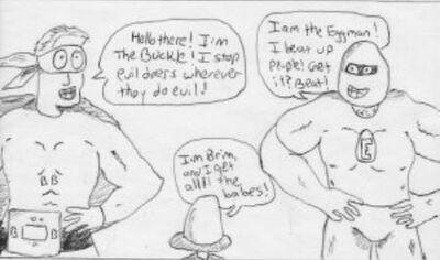 Buckle brim eggman