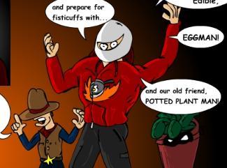 Brim eggman potted