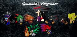 The logo for Kyumako vengeance