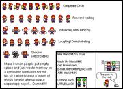 Mini Mario Sprite