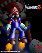 SMBZ Mecha Mario by Magnus Bowser