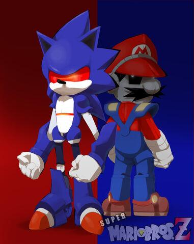 File:Mecha Combo Mario and Sonic by JoeAdok.jpg