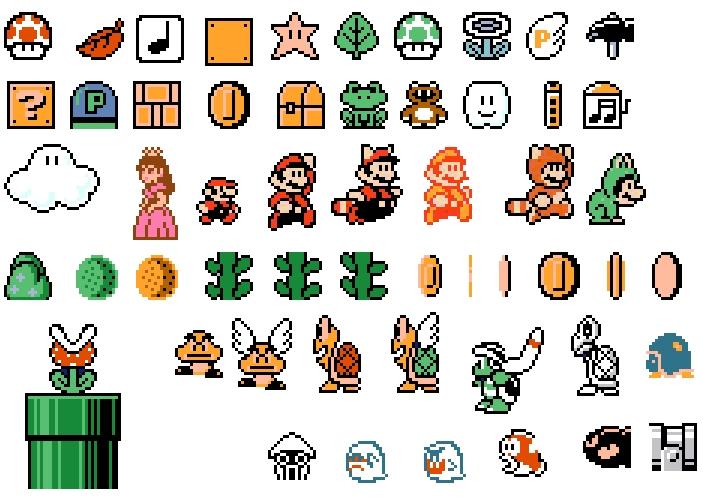 Mario 3 Sprites   Sprite Stitch Wiki   FANDOM powered by Wikia