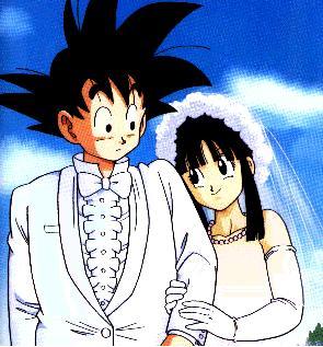 Goku and ChiChi Wedding | Sprite Stitch Wiki | FANDOM powered by Wikia