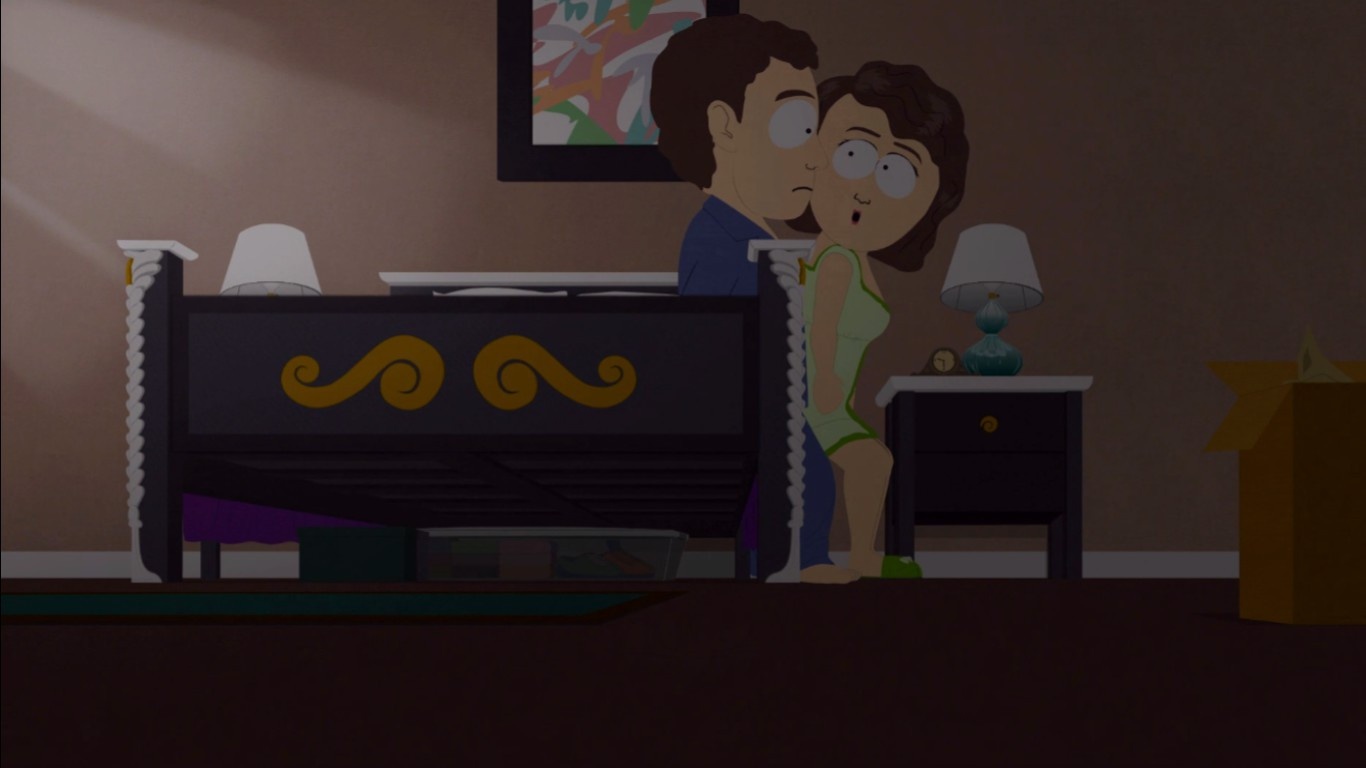 Mom Dad bedroom jpg. Image   Mom Dad bedroom jpg   The South Park Game Wiki   FANDOM