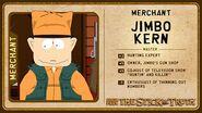 Jimbo character card