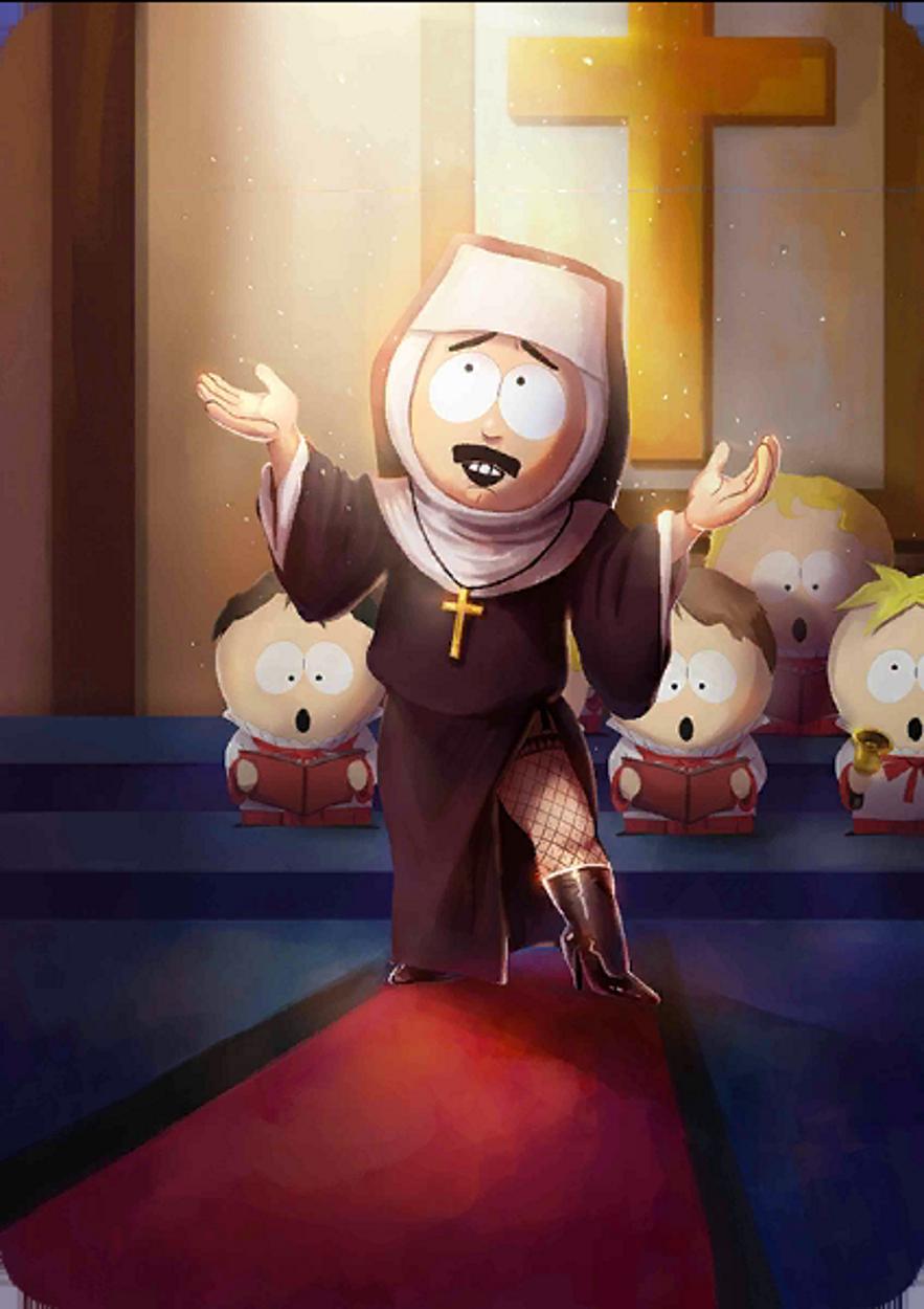 Sexy Nun Randy   The South Park Game Wiki   Fandom