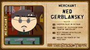 Ned gerblansky card