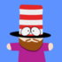 Mr hat friend icon