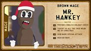 Mr hankey card