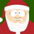 Santa friend icon