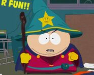 Cartman attack the school