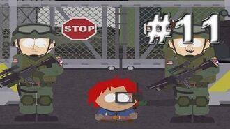 South Park - The Stick of Truth Прохождение 11. Прорыв на военную базу + мастер класс по пердежу