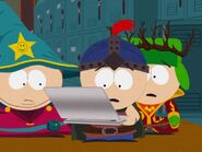 Stan Cartman Kyle clydes laptop
