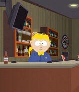 Bartender skeeters bar