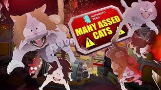 DEFEAT THE MANY-ASSED CATS Diabolic South Park - The Fractured But Whole