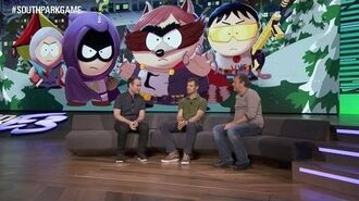 South Park The Fractured But Whole Gameplay Showcase with Trey and Matt – E3 2016