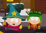 Kyle Cartman beat up clyde