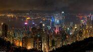 Hong kong at night 1920x1080