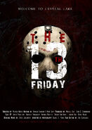 Friday the 13th poster by mclili