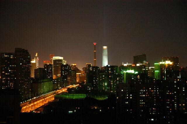 File:Beijing skyline at night.JPG