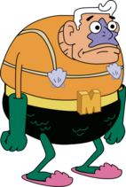109-1094843 man-ray-spongebob-png-mermaid-man-and-barnacle
