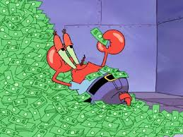 Mr krabs money