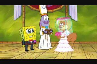 Sandy spongebob