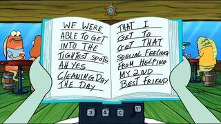 Kalamarko čita dnevnik