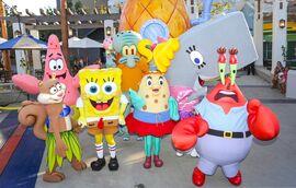 SpongeBob-characters-mascot-costumes