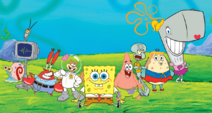 SpongeBob-main-characters-2D