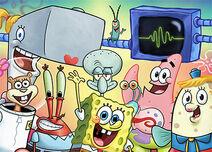 SpongeBob SquarePants Character Art