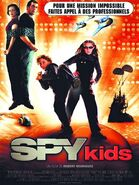 Spy kids French poster