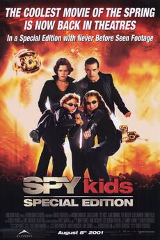 Spy kids special edition movie poster