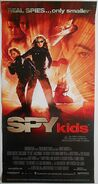 Spy kids Australian poster