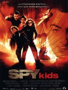 Spy kids Spanish poster