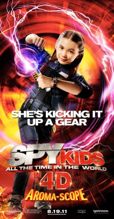 Rowan Blanchard in Spy Kids- All the Time in the World