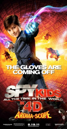 Mason Cook in Spy Kids- All the Time in the World
