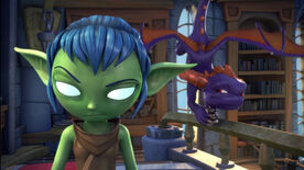 S2E4 Stealth Elf Spyro Library